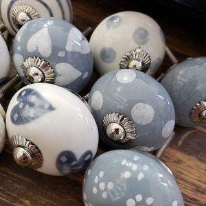 Handpainted Ceramic Drawer Pulls
